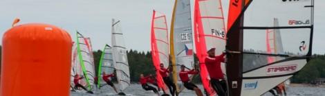 Raceboard MM 2012 - Lähtö