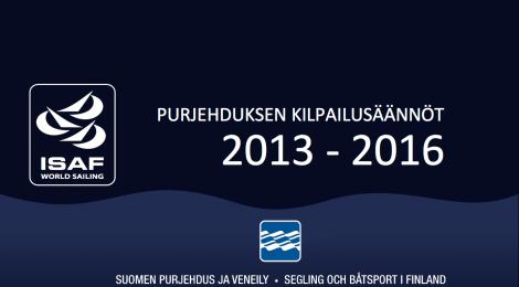 Purjehduksen kilpailusäännöt 2013-2016