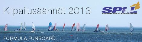 Formula Windsurfing – kilpailusäännöt 2013