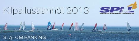 Slalom Ranking – kilpailusäännöt 2013