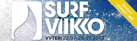 Surfviikko 2013 – 22.-28.7. Yyterissä