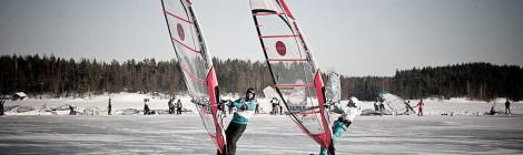 Winter Sailing Finnish Open Nationals 2014 part1