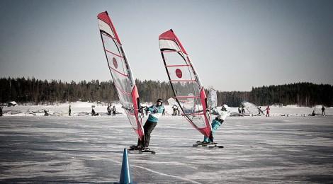 Winter Sailing Finnish Open Nationals 2014 part1