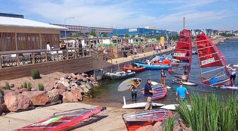 Purjelautailun olympialuokan EM-mittelö käynnistyy Helsingissä