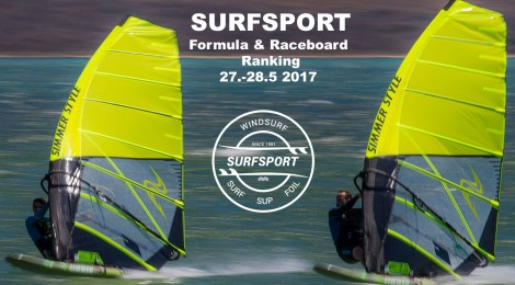 Kilpailukutsu: Surfsport Formula & Raceboard ranking – Rauhanranta 27.-28.5.2017