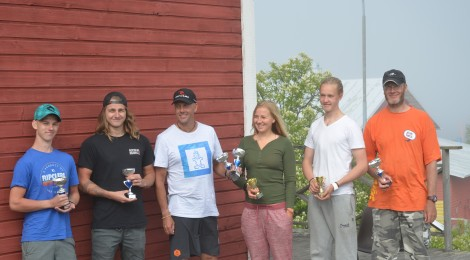 Kisaraportti: Formula- ja Raceboard-laudat Kallon vesillä