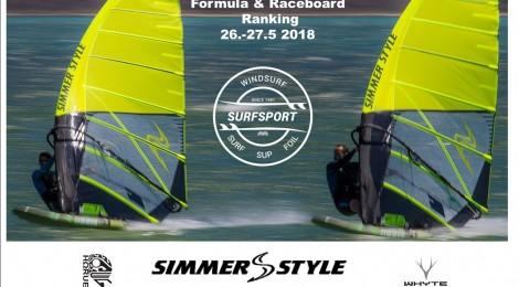 SURFSPORT Formula ja Raceboard Ranking 26.-27.5.2018 Rauhanranta