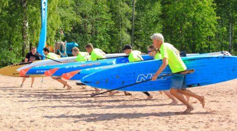 Miesten Technical Race startti. Kuva: Heli Konttinen.