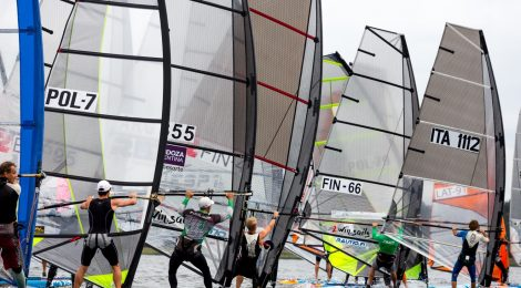 KILPAILUKUTSU: Raceboard-luokan SM-kilpailut 8.-9.9.