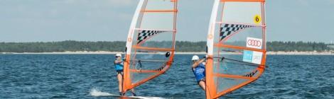Kilpailuraportti: HSS Techno293 purjelautailijat mukana kilpailuissa