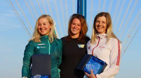 Aleksandra Blinnikalle EM-hopeaa Raceboard purjelautailun Euroopanmestaruuskilpailuista
