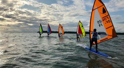 SM 2019 Yyteri purjehdittiin vaihtelevissa olosuhteissa
